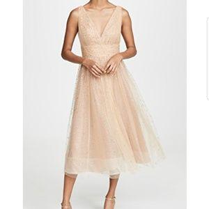 NEW Elegant Marchesa Tulle Glitter Gown